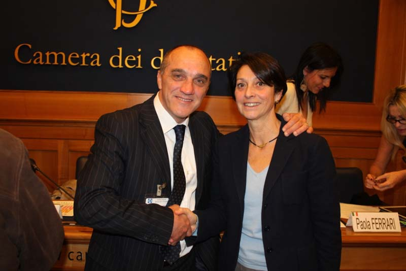 Luca Massaccesi alla Camera dei Deputati